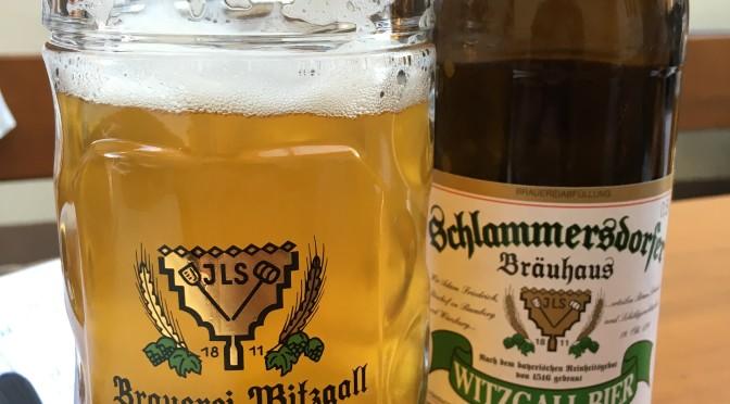 "<span class=""entry-title-primary"">Kurz angetrunken: Brauerei Witzgall – Schlammersdorfer Landbier</span> <span class=""entry-subtitle"">Die No.1 der Kellerbiere</span>"