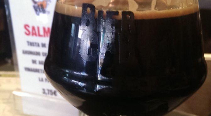 "<span class=""entry-title-primary"">14:10 Uhr in Barcelona: Zeit für ein 13,8% Imperial Stout</span> <span class=""entry-subtitle"">Hoppin' Frog - T.O.R.I.S Bourbon Barrel Aged</span>"