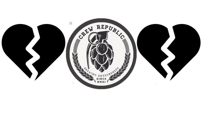 "<span class=""entry-title-primary"">BYE BYE my love CREW REPUBLIC</span> <span class=""entry-subtitle"">AB INBEV steigt bei Crew Republic ein</span>"